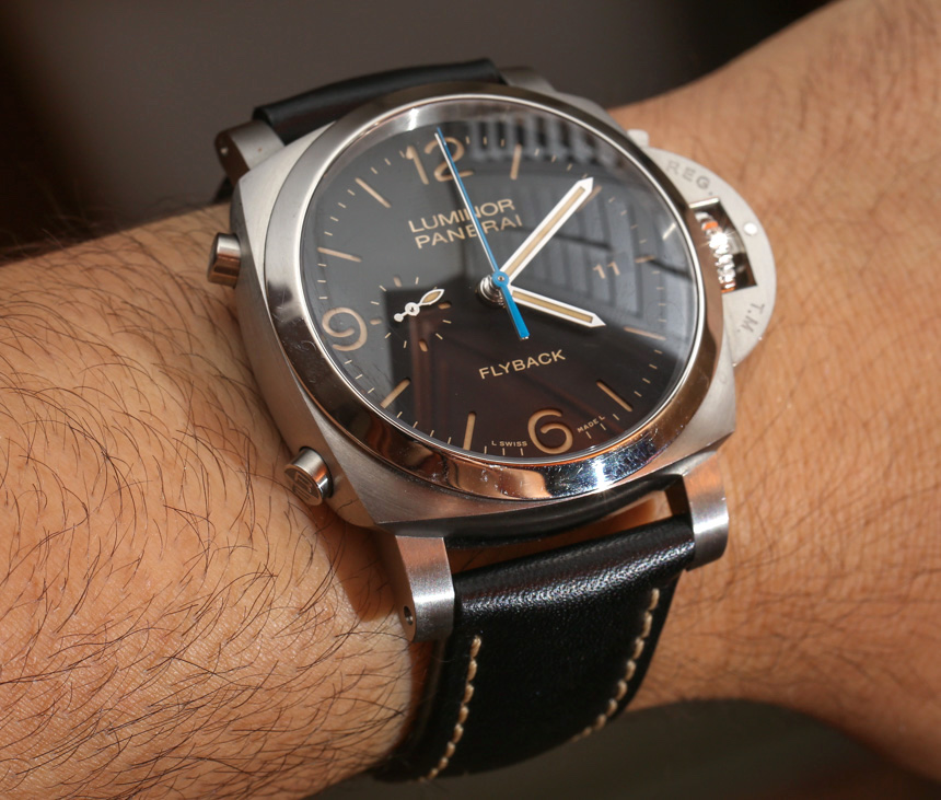 Panerai Luminor 1950 Chrono Flyback PAM Replica Watches